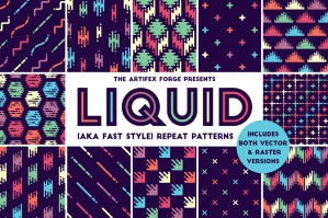 Liquid Repeat Patterns