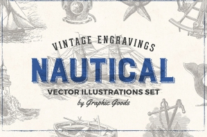 Nautical Engraving Illustrations