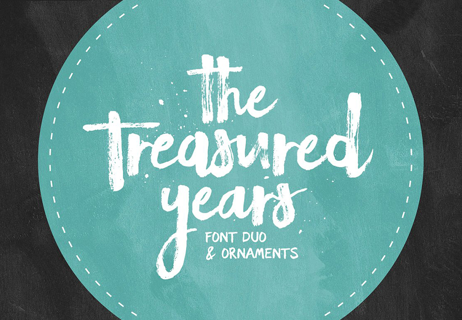 The Treasured Years Font