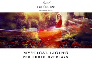 Mystical Lights: 200 Photo Overlays