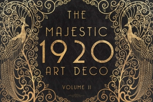 The Majestic Art Deco Patterns Collection