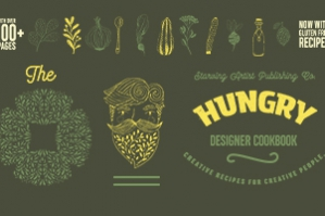 Hand Drawn Illustrations and Typefaces