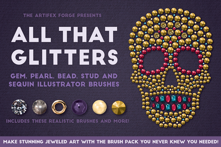 All That Glitters: Vector Glitter Brushes
