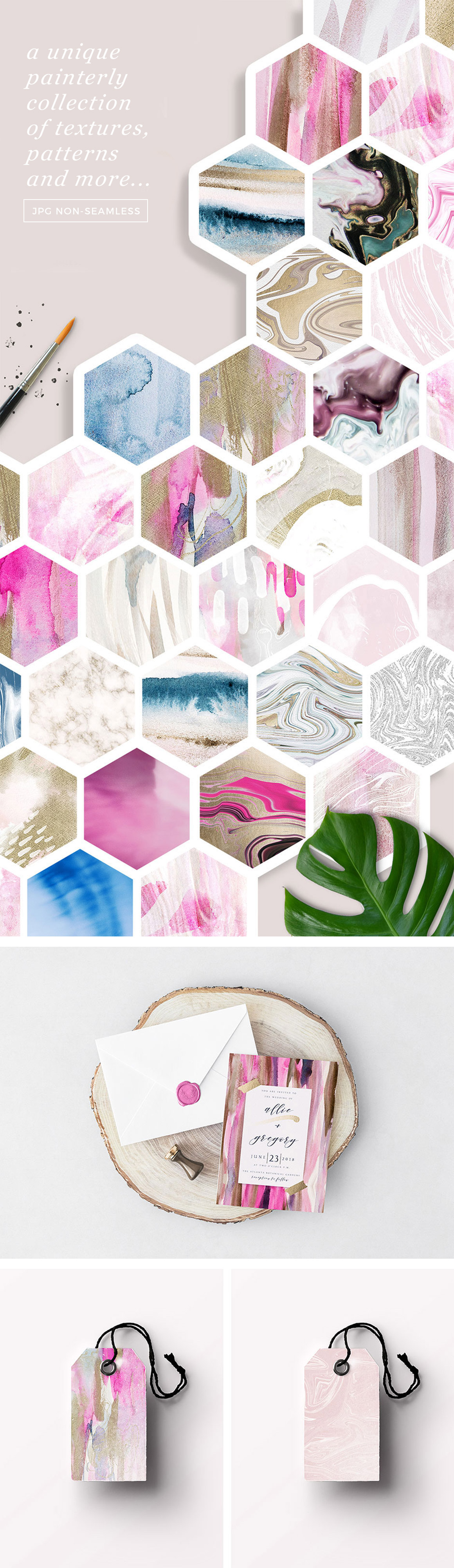 Modern Fluid & More Texture Background Collection