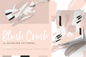 Blush Crush Patterns & Templates
