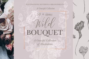 Wild Bouquet Design Set