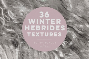 36 Winter's Hebrides Textures