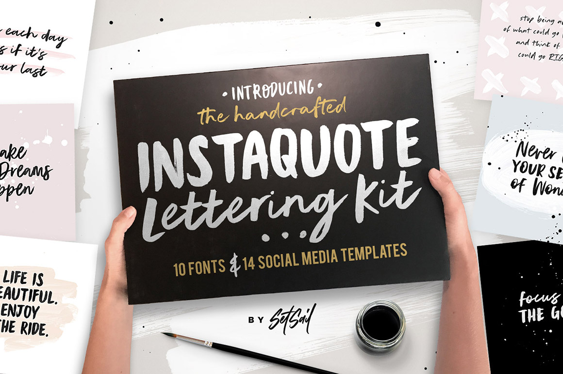 Instaquote Lettering Kit