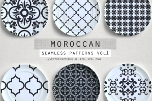 Moroccan Seamless Patterns Vol.1