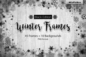 Winter Frames Black Edition