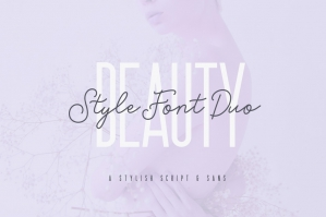 Beauty Style Font Duo