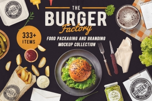 The Burger Factory Scene & Mock-up Creator