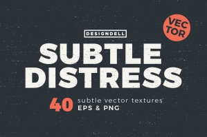 Subtle Distress Vector & Textures
