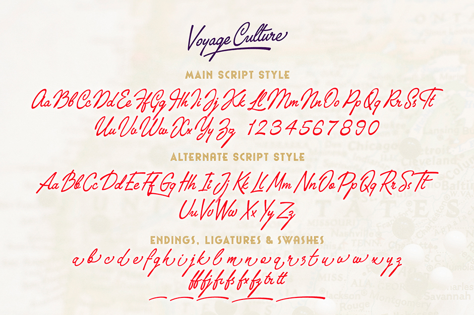 The Voyage Culture Font Duo