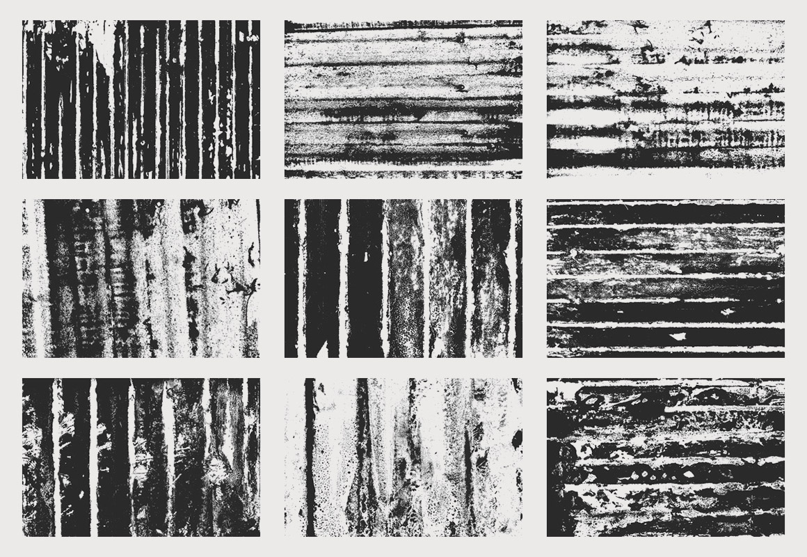 Corrugated Nightmare Texture Pack