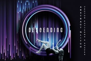 Descending – Glitch Design Elements