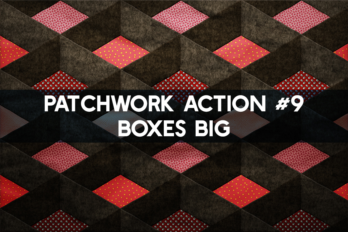 Patchwork Effect Photoshop Toolkit