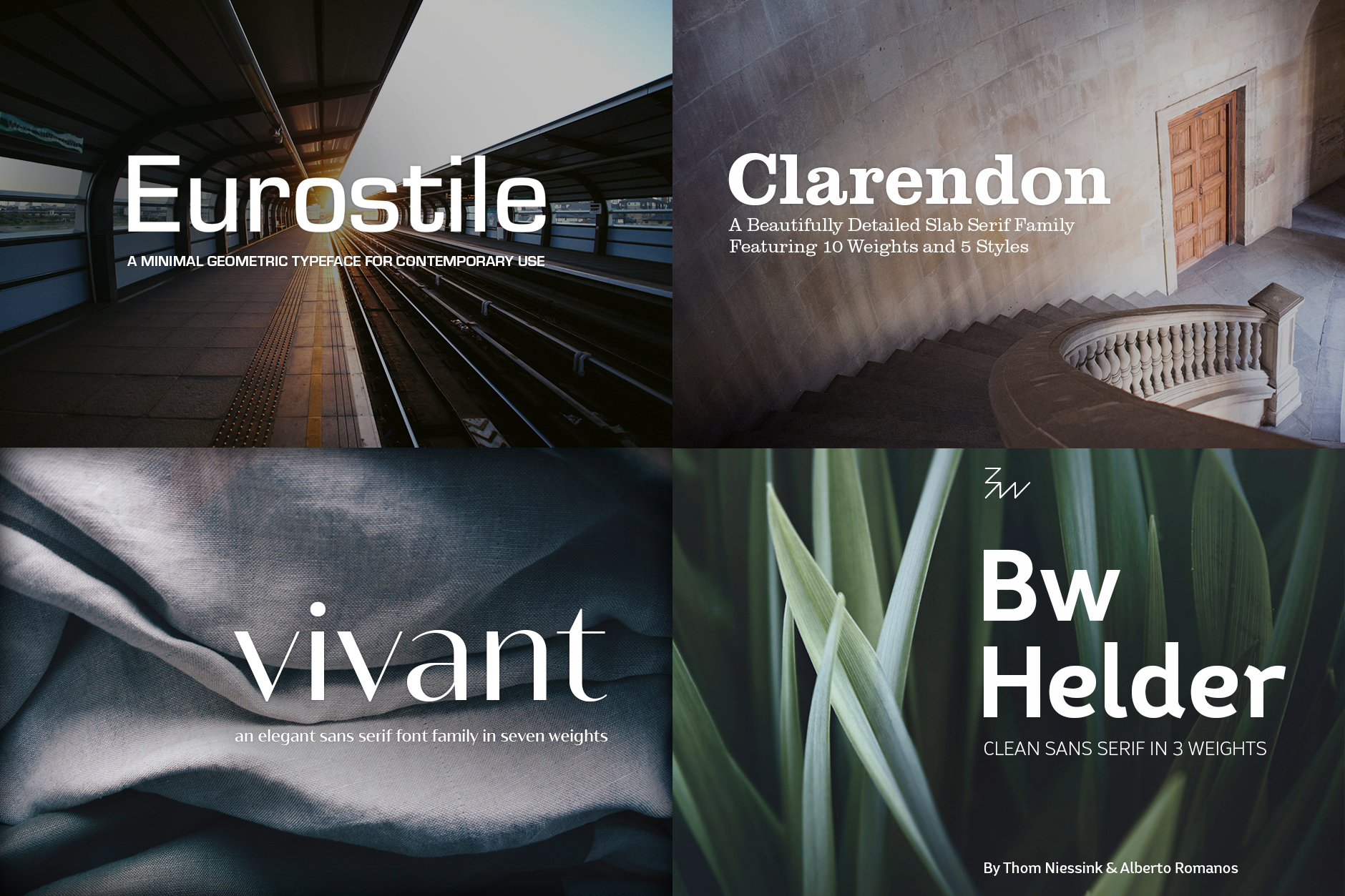 The Designer's Essential Font Selection