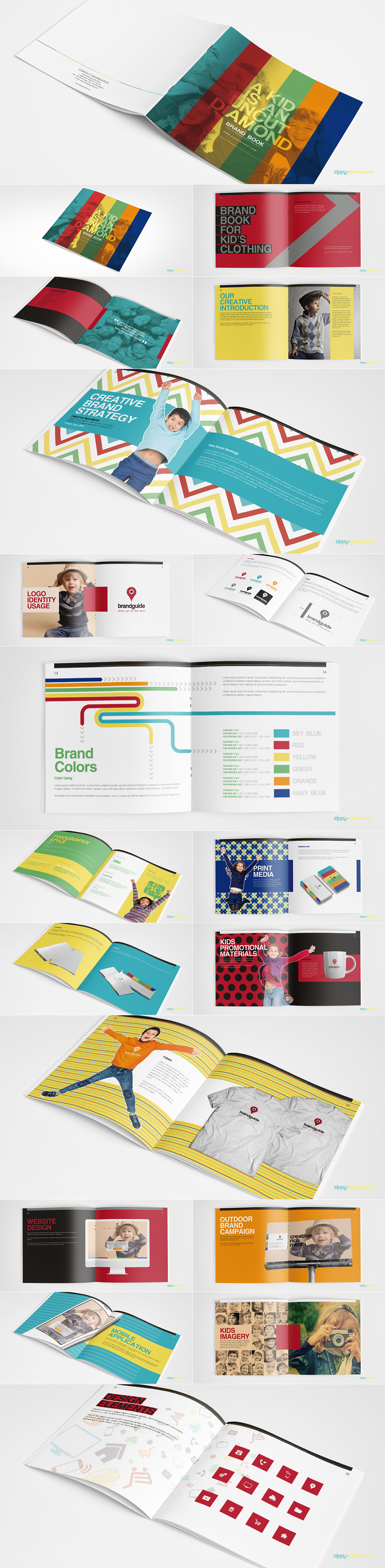 Brand Book Templates