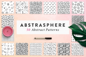 50 Abstract Patterns Collection
