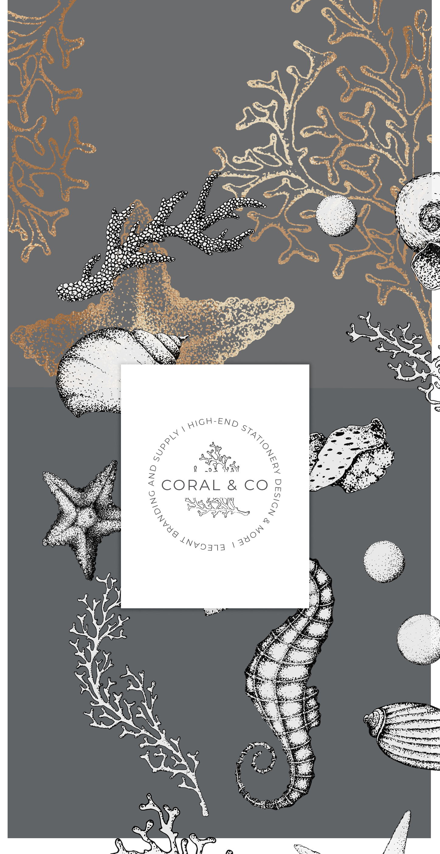 Coral Beach – Maritime Illustrations