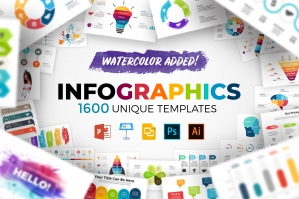 1600 Infographic Templates