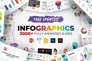 3000 Infographic Templates