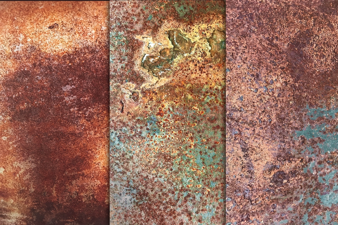 Rusted Metal Textures