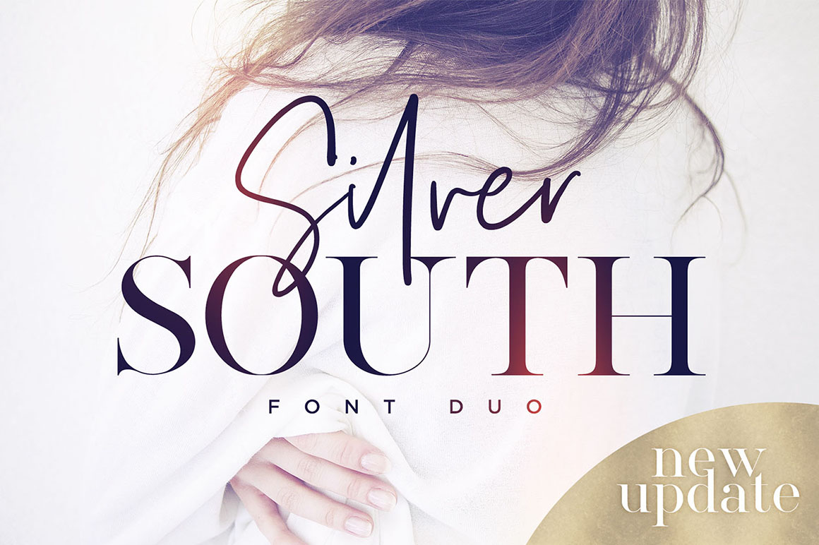 Silver South Font Duo