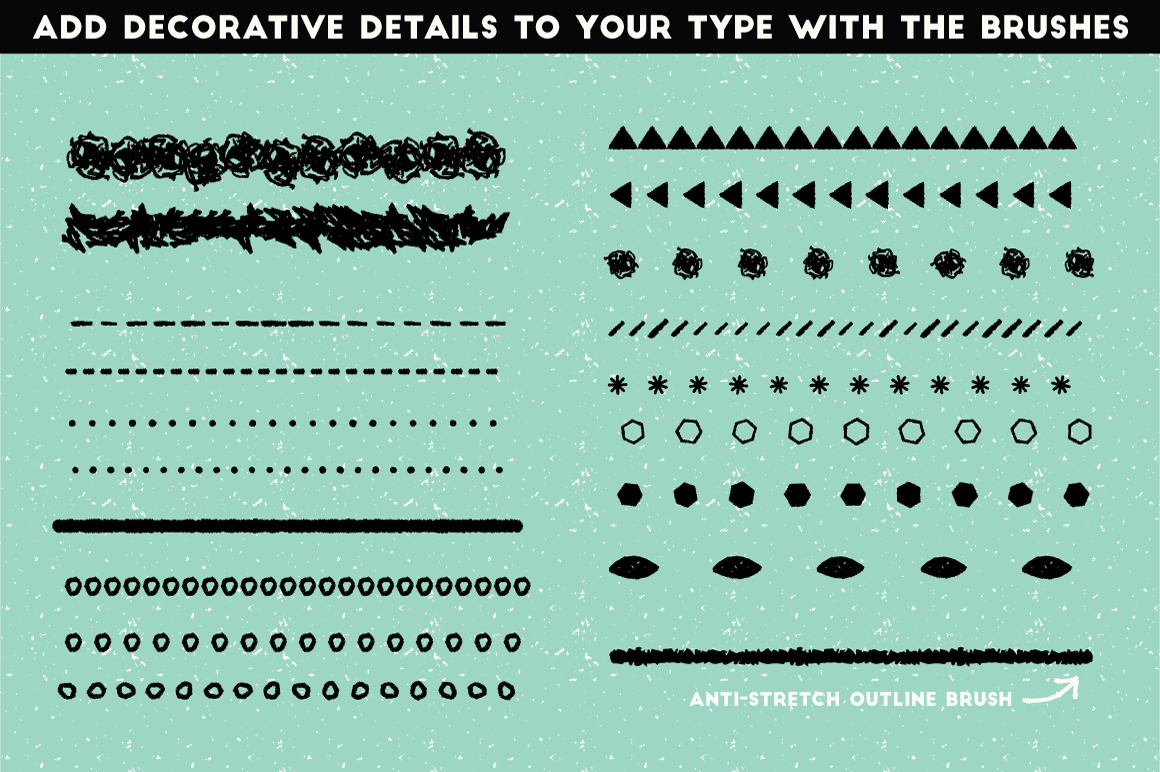 The Hand-Drawn Pencil Type Tool Kit