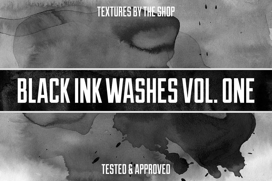 Black Ink Washes Vol. 01