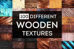 100 Different Wooden Textures