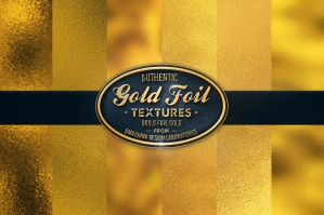 31 Authentic Gold Textures