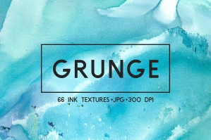 Grunge Ink Abstract Textures Pack