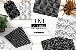 Line Patterns Vol. 1