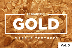 Modern Marble Gold Textures (Vol. 5)