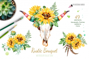 Rustic Bouquet Boho collection
