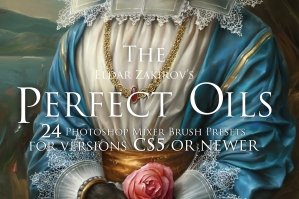 Oil Paints Mixer Brush Presets For Photoshop CS5+