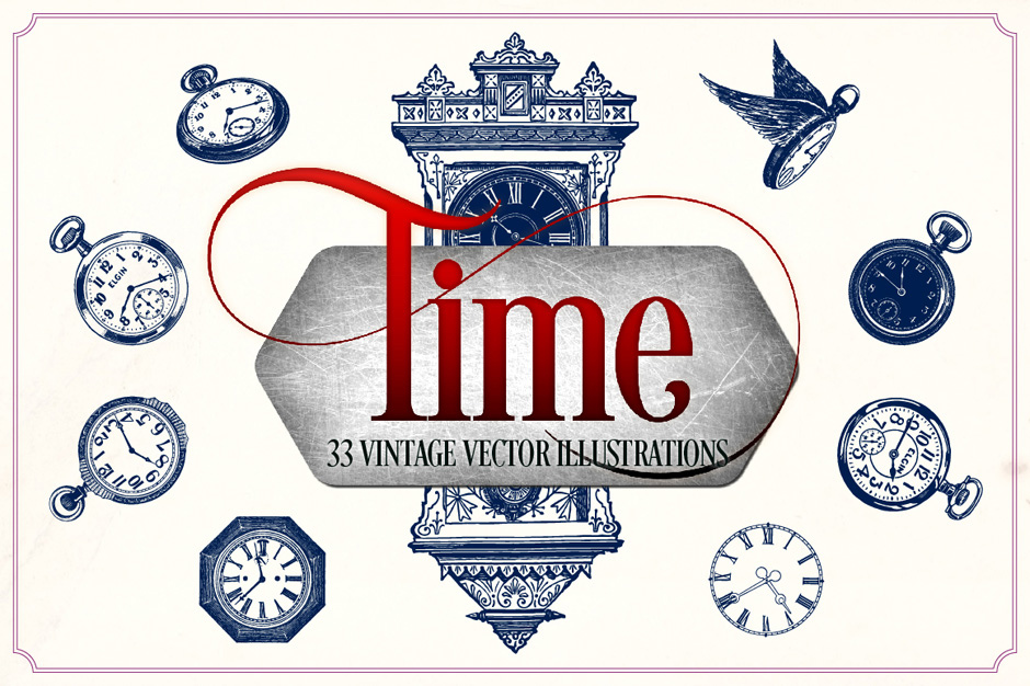 Vintage Clocks and Watches