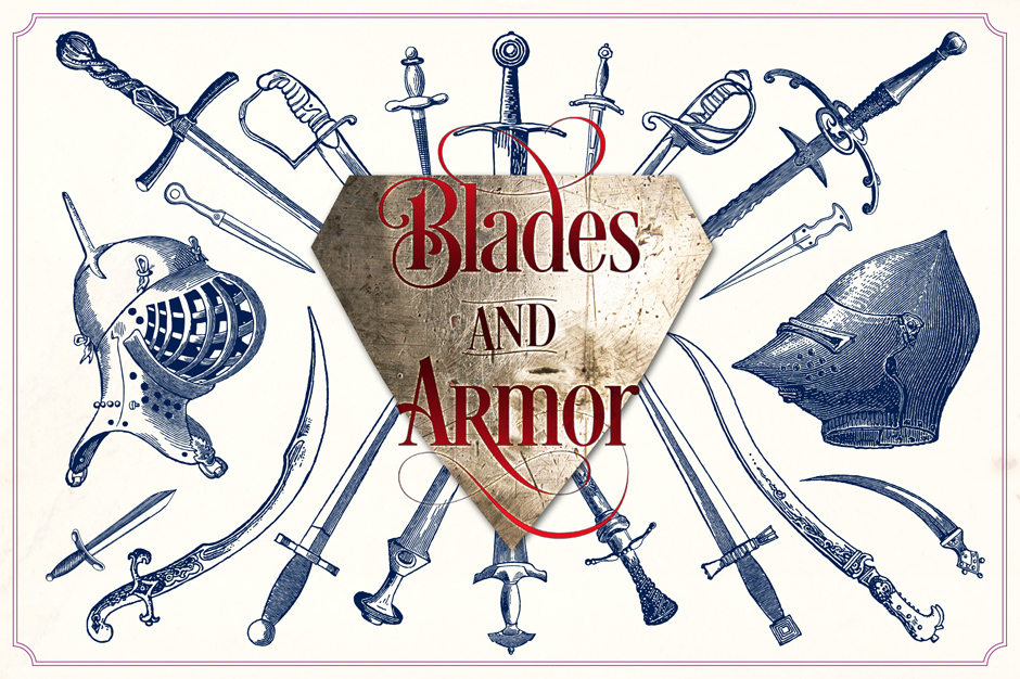 Vintage Swords and Armour