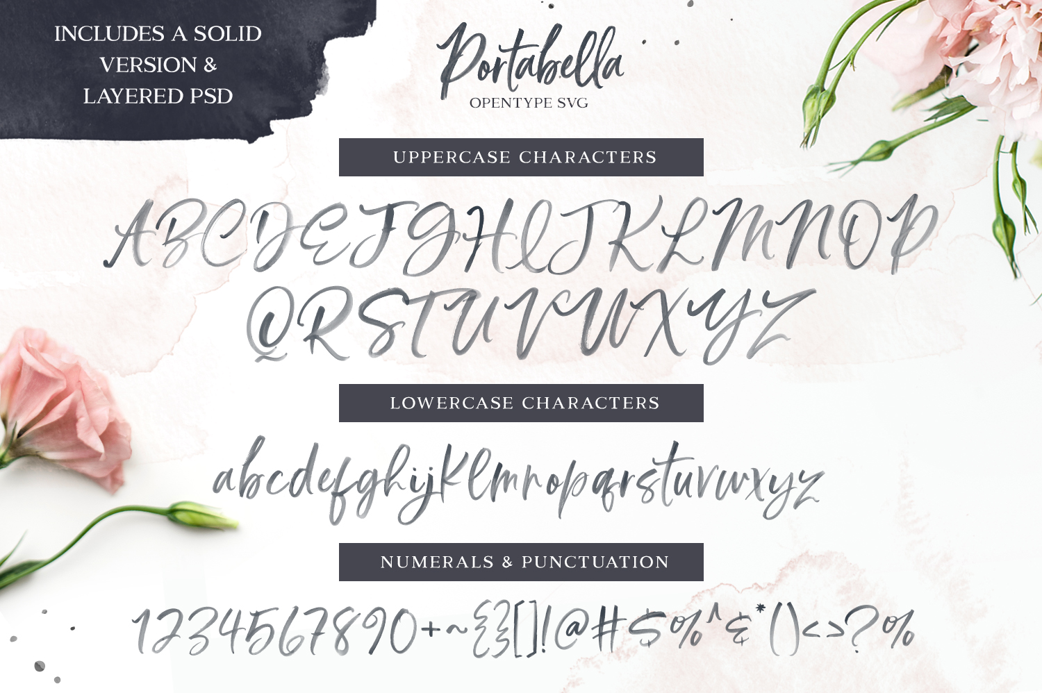 The Supreme Quality Font Bundle