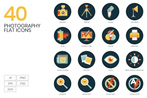 40 Photography Icons