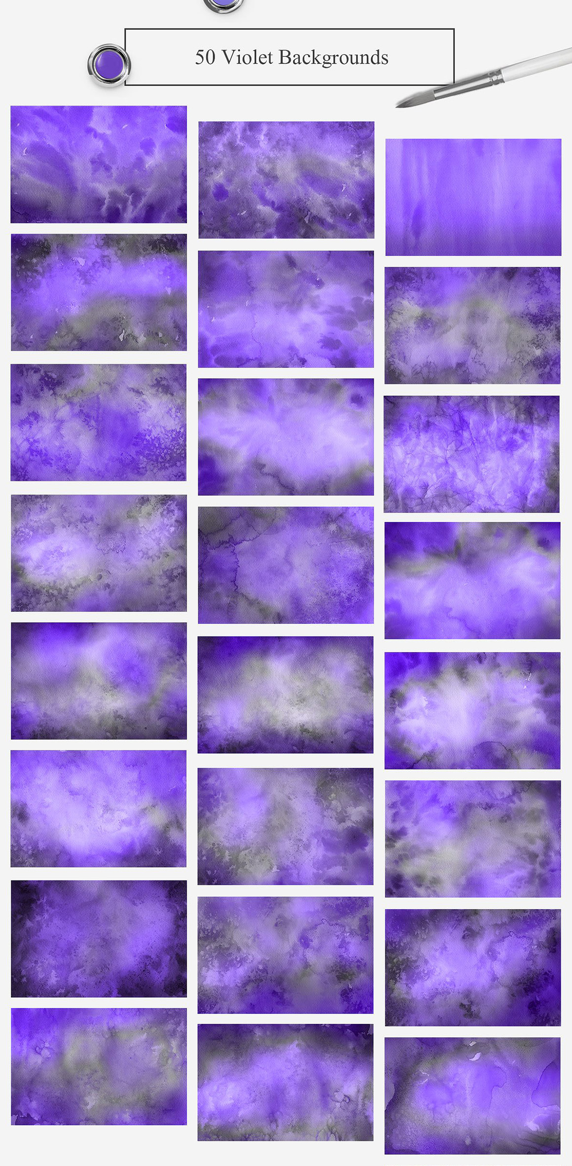 500 Watercolor Paper Backgrounds