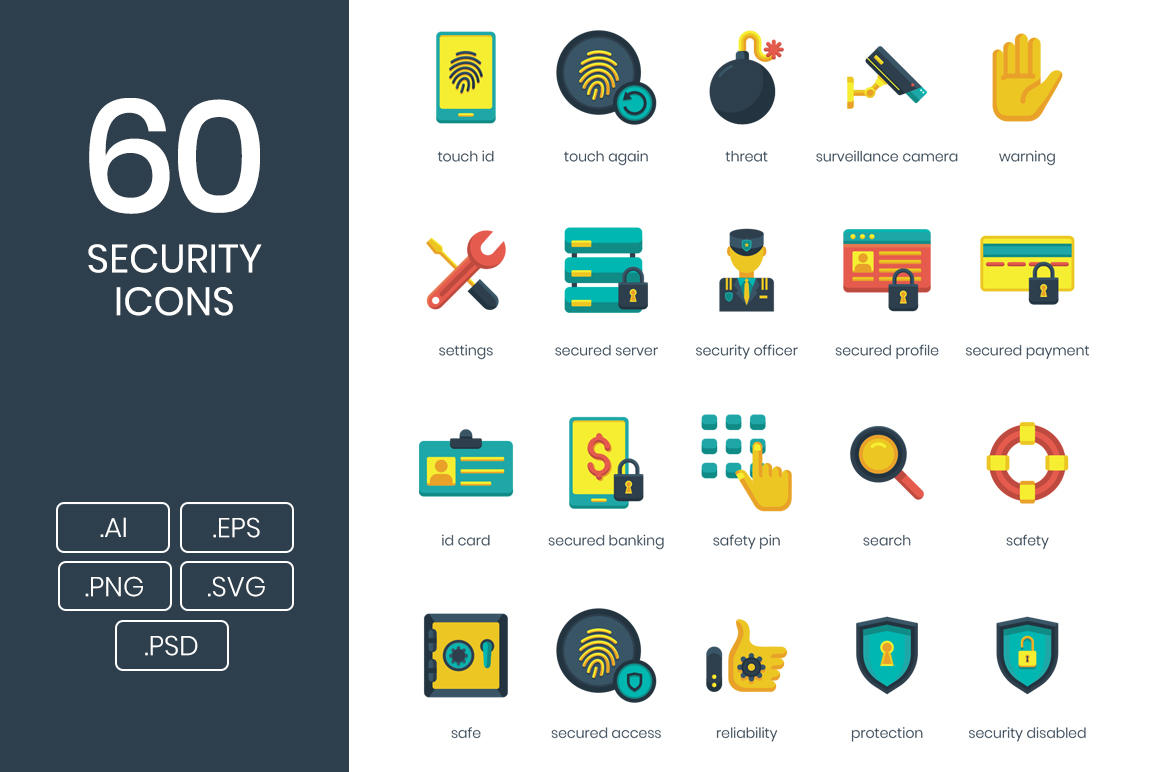 60 Security Icons