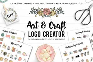 Art and Craft Logo Creator