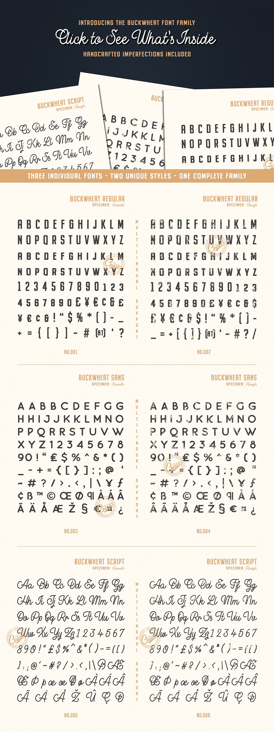 Buckwheat Font Collection
