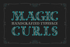 Magic Curls Font