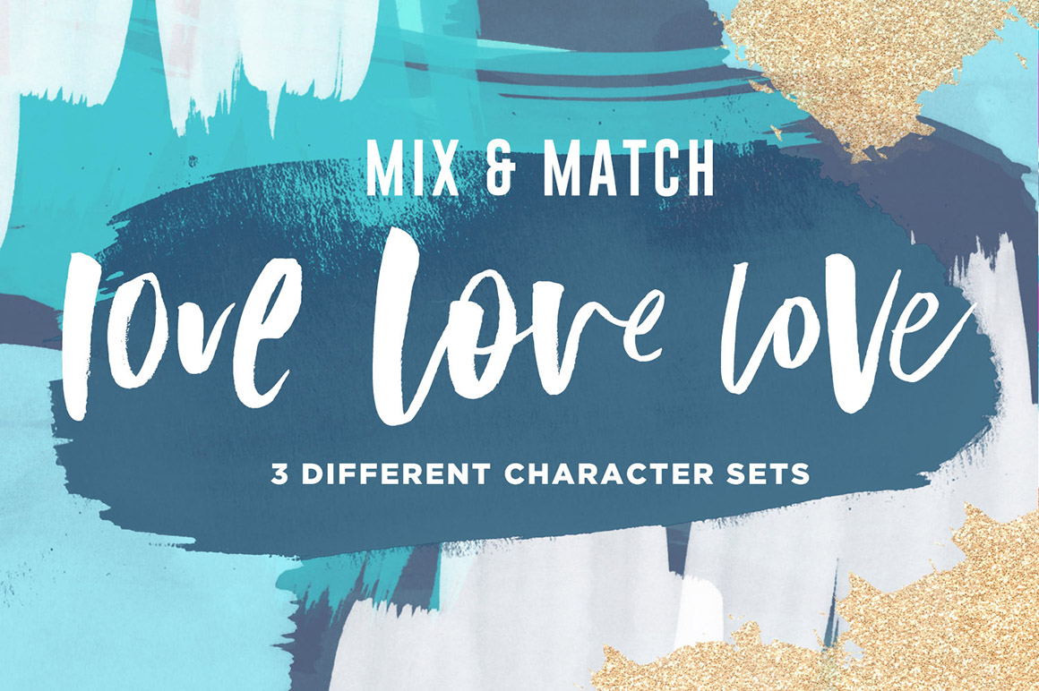 Misguided Brush Font