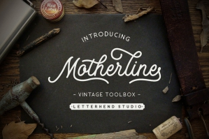 Motherline Vintage Toolbox