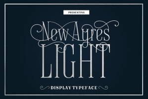 New Ayres Light Typeface